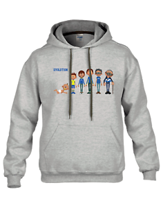 PERSONALISED FOOTBALL EVOLUTION HOODIE - Choose your own favourite kits