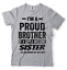 miniature 10 - Gift For Brother Funny Birthday Gift For Brother Proud Brother Funny T shirt