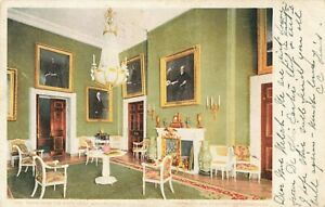 Postcard-Green-Room-White-House-Washington-DC