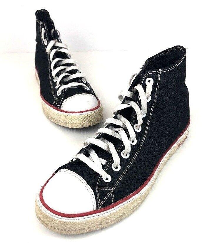 Converse chuck taylor all star tac riforma riforma tac high top nero scarpe rosse m 10 w 12 984da0