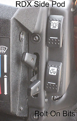 RDX Side Pod for K Switches LandRover Defender 1983 to 2006 Dashboard Console