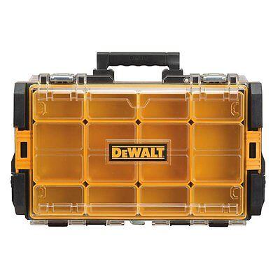 DEWALT DWST08202 Tough System Organizer with Clear Lid