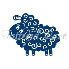 Tattered Lace Sheep Die NEW WaferThin Delicate Detailed Filigree Animal Farm Zoo