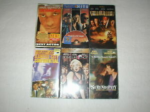 BRAND-NEW-SEALED-MOVIES-6-PACK-VHS-MOVIE-LOT-RARE-OOP-HTF
