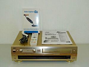 JVC-HR-DVS1-miniDV-S-VHS-Videorecorder-mit-FB-amp-BDA-2-Jahre-Garantie