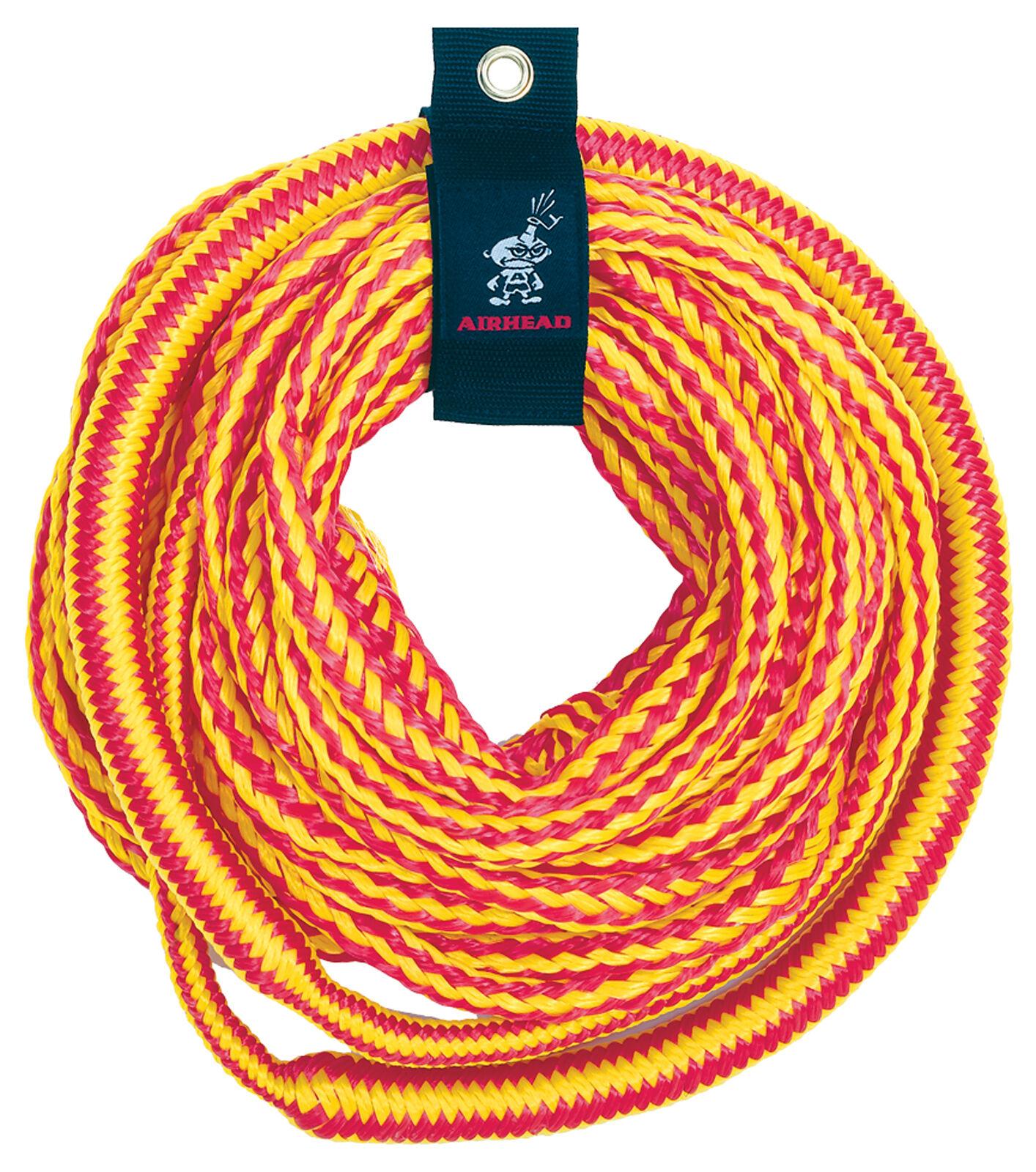Airhead  Bungee TubeTowableTow Rope Waterski Ski Rope 50ft c w rope caddy