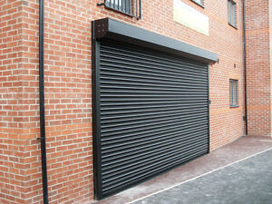 ELECTRIC INDUSTRIAL SECURITY ROLLER SHUTTER / GARAGE DOORS ...
