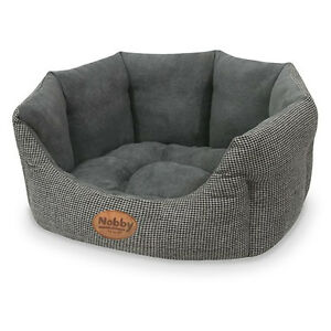 Nobby-Cat-Bed-Oval-Josi-Grey-Various-Sizes-New