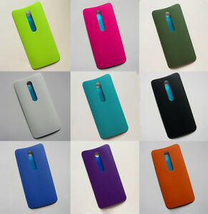 the best attitude e08b4 4b882 Details about OEM Rear Back Housing Battery Door Cover Panel For Moto X  Style /Pure Edition