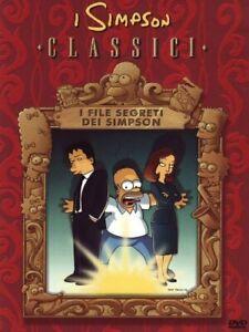 DVD-THE-SIMPSONS-CARTOON-CLASSICI-I-FILE-SEGRETI-DEI-SIMPSON-x-files-homer-alien