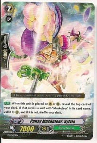 1x Cardfight! Vanguard Pansy Musketeer PR Near Mint PR//0120EN Sylvia