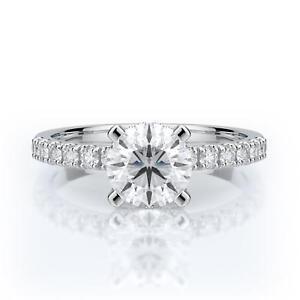 Engagement-Diamond-Ring-Brilliant-Round-Cut-18k-White-Gold-1-5-Carat-F-VS1