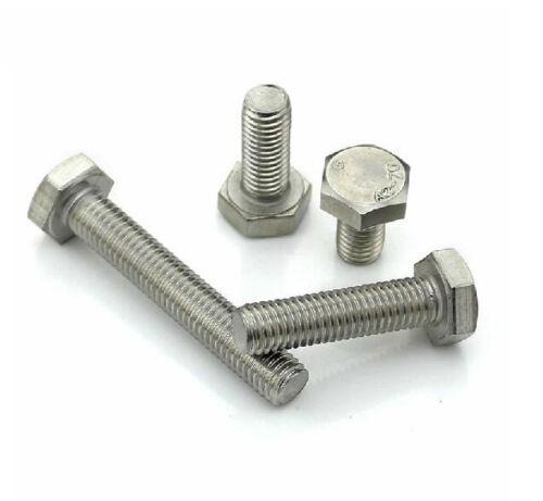 M6*6/810/12/16/20/25/30/35/40/50/60/70/-150mm Hexagon Head Bolts Hex cap screw