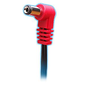 cioks 2050 flex 2 50cm center positive 5 5 dc plug guitar pedal cable red ebay. Black Bedroom Furniture Sets. Home Design Ideas