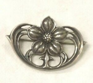 58e92f3f125 Image is loading JAMES-AVERY-Glastonbury-Thorn-Flower-Pin-Brooch-Sterling-