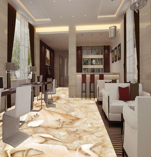 3D Belle Ciel Fond d'écran étage Peint en Murale Autocollant Murale en Plafond Chambre Art cdbe98