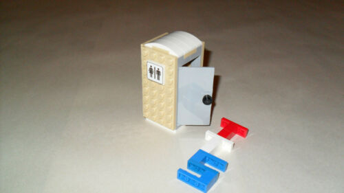 Choice LEGO Custom Porta Potty 60073 Toilet Build City Scenes Carnival Circus