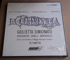 Simionato/De Fabritiis ROSSINI La Cenerentola - London OSA 1376 SEALED
