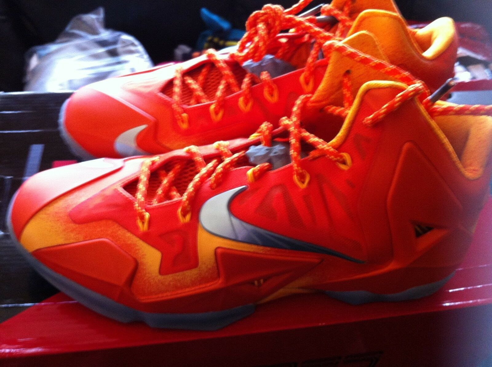Nike Lebron 11 Forging Iron size 10.5 Worn 1x VNDS