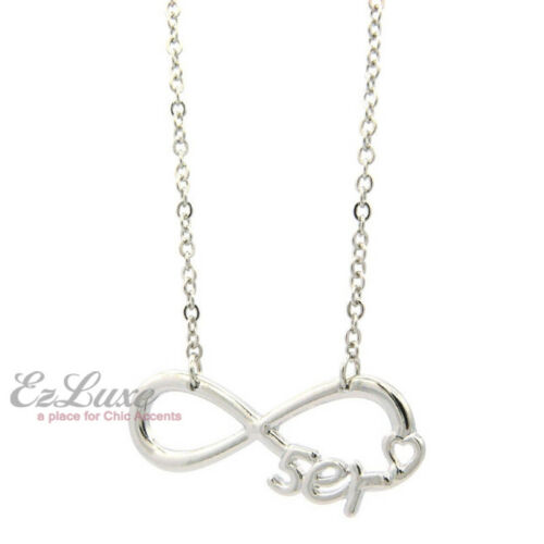 Option de longueur du American Pop Band R5er Coeur Infini Collier Amour Chaîne Fan Club