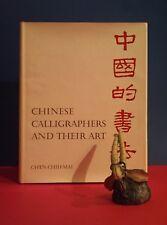 Ch'en Chih-Mai: Chinese Calligraphers & Their Art/China - art - history HBDJ