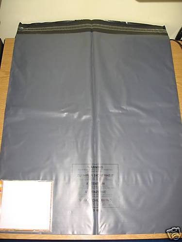 5 x Extra Large Grey Mail Bags Strong Sacks approx 500mm 600mm 20 x 24 XL A20