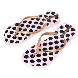 0ab7e6f45d7a0 Ipanema Women flip flops Rubber Sandals thong Brazil Beach Pink Gold ...