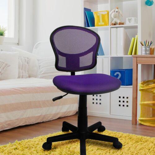 Schul Kinder Jungen Mädchen Schreibtisch Dreh Stuhl Computer PC Büro violett