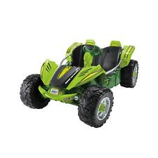 kids electric battery car power wheels dune racer extreme green ride on  vehicle