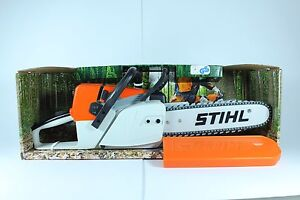 stihl spielzeugs ge motors ge mit sound anwerfseil ein ebay. Black Bedroom Furniture Sets. Home Design Ideas