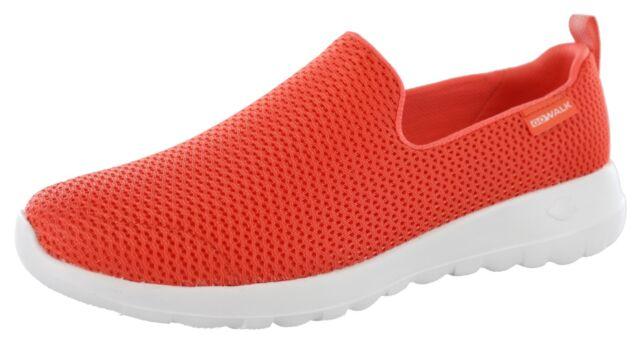 e6f636e14 Skechers Womens GOwalk Joy Slip on Athletic Shoes 9.5m Coral | eBay