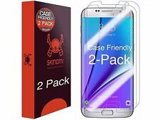 Skinomi CASE FRIENDLY (2-Pack) Clear Screen Protector For Samsung Galaxy S7 Edge