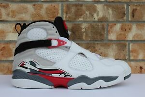 76e2d0bf5237 Men s Nike Air Jordan VIII 8 Retro Bugs Bunny White Grey Red Size 14 ...