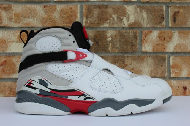 buy online 62cda b541f Men s Nike Air Jordan VIII 8 Retro Bugs Bunny White Grey Red Size 14 305381-
