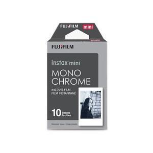 Fujifilm Instax Mini Monochrome Film - Single Pack (10 Exposures)