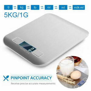 Balance-de-Cuisine-Electronique-5kg-1g-LCD-scale-Numerique-acier-inoxydable