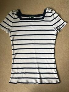 Ralph-Lauren-Ladies-T-shirt-Size-small