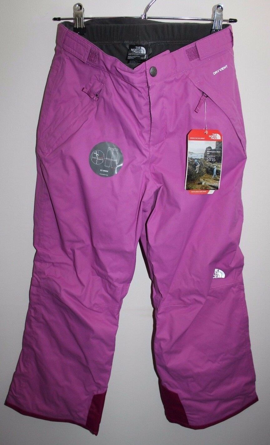 New The North Face G Snowquest tri pant girls size L (14 16)