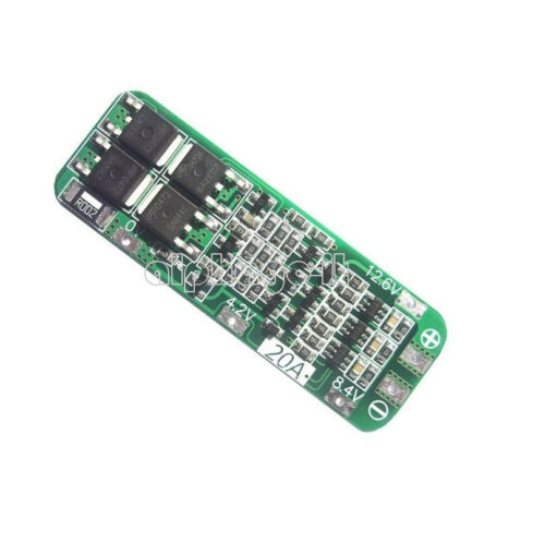 Li-ion Lithium Battery  20A 3S 12.6V 18650 Charger PCB BMS Protection Board Cell