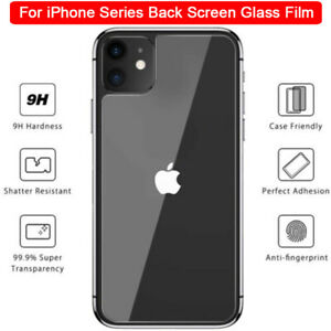 For-iPhone-11-Pro-Max-XS-XR-8-7-6S-Tempered-Glass-Back-Rear-Screen-Protector-WI