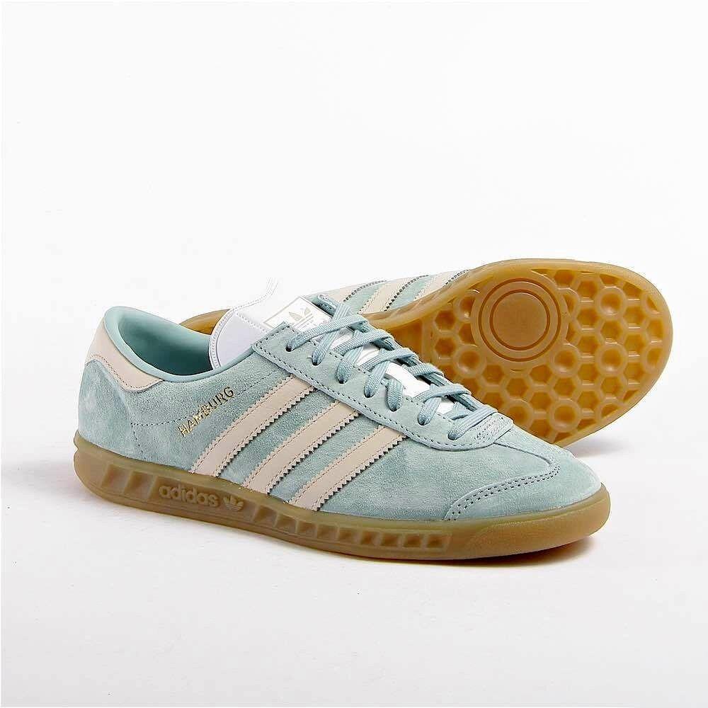Noi: 8,5 adidas originali donne amburgo w scarpe  grande 1 / 2 sz grande  calza 9 e85d4b