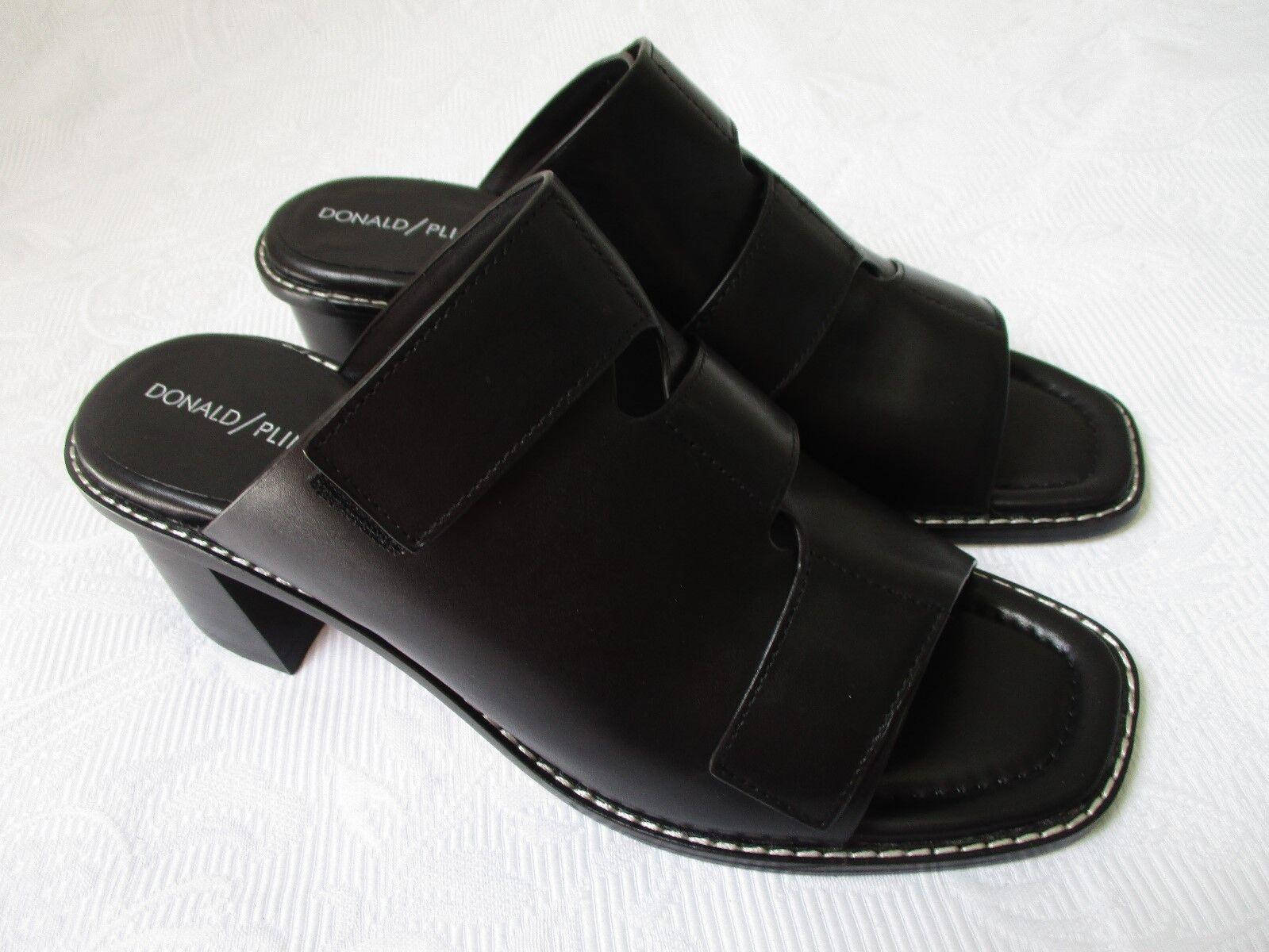 Donald J Pliner Amalia Negro Puntera Abierta Zapatos Zapatos Zapatos Talla 9 M-Nuevo  solo cómpralo