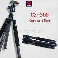 MANBILY CZ-308 Camera&DV tripod,Professional carbon fiber travel tripod,174cm