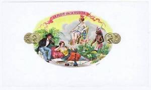 La Flor de la Vuelta Interne Cigare Boîte Label Hukkah E8fTbgUu-09162624-175668112