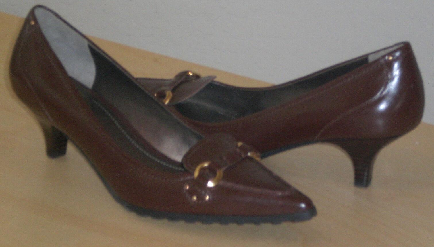 Easy Spirit impactt Cuero Bombas botas marrón 8 Med Med Med Nuevo  Envío y cambio gratis.