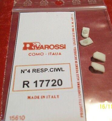 Espressive Rivarossi Ho Set 4 Respingenti Per Carrozze Ciwl - Ovp New Art. R17720 Il Consumo Regolare Di Tè Migliora La Salute