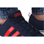 thumbnail 3 - Adidas VS PACE B74317 Navy Red Trainers Shoes Footwear Laces Ankle Collar