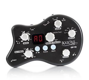 mobile headphone guitar amplifier modeling amp multi effect device drum computer ebay. Black Bedroom Furniture Sets. Home Design Ideas