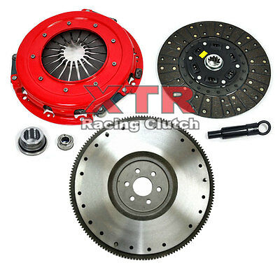 """FX STAGE 3 CLUTCH KIT /& FLYWHEEL 10.5/"""" 86-95 FORD MUSTANG 5.0L 302/"""" GT LX"""