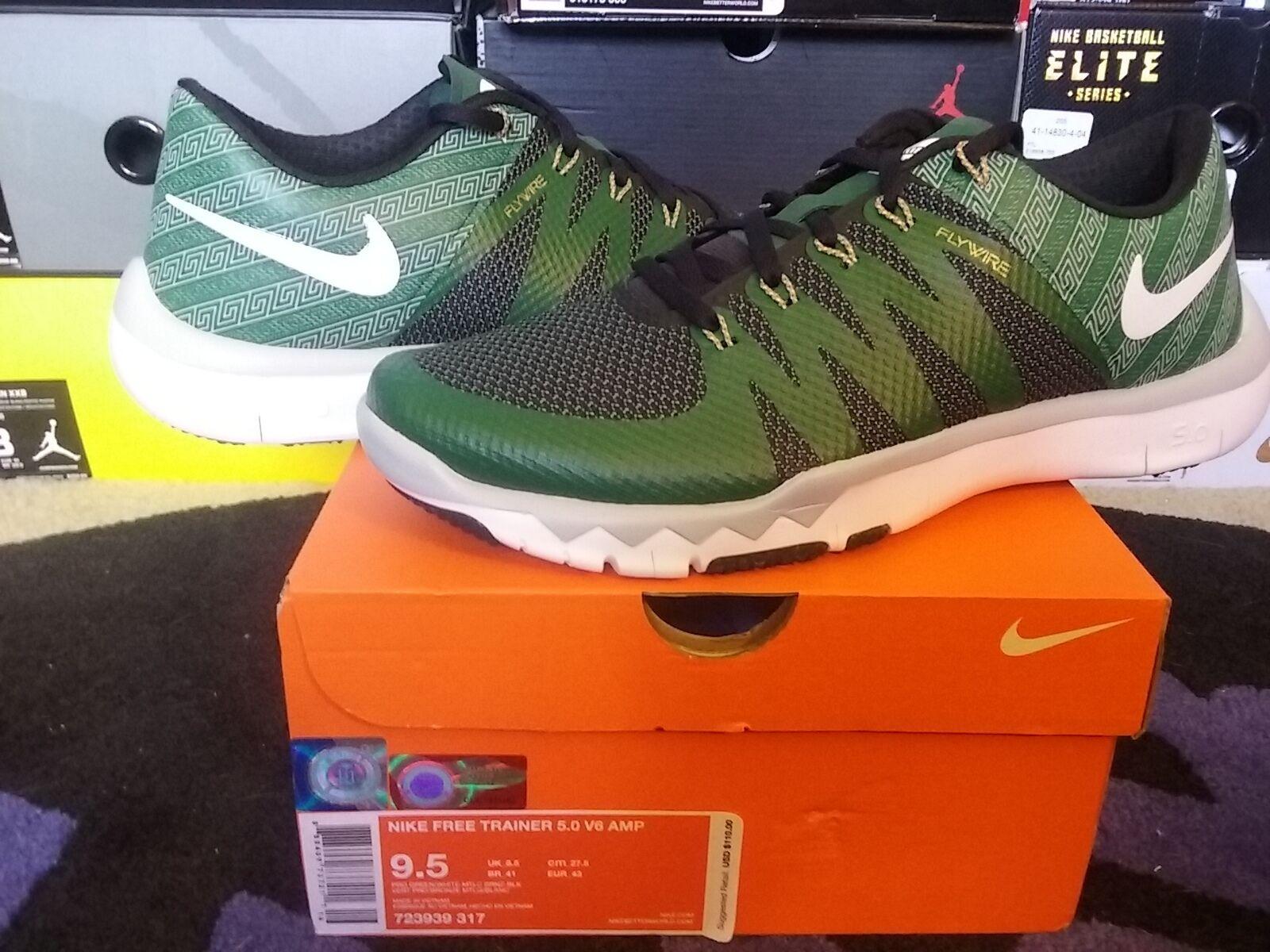 Nike Free Trainer 5 V6 AMP Michigan State Spartans semana Wild cero 1 723939 317 Wild semana Casual Shoes 9d10f2